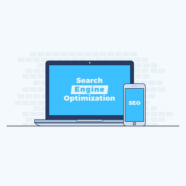 Notebook, mobil, Search Engine Optimization